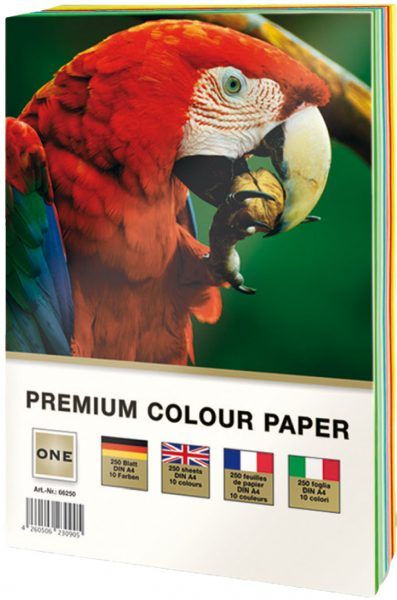 ONE – PREMIUM COLOUR PAPER