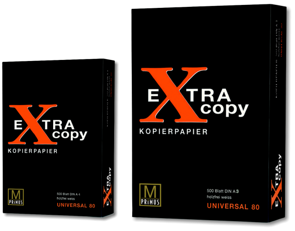 EXTRA COPY – UNIVERSAL COPY 80 – BLACK A4 A3