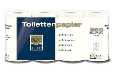 Toilettenpapier blau