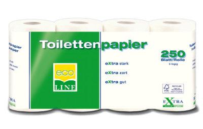 Toilettenpapier grün