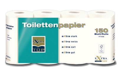 Toilettenpapier türkis