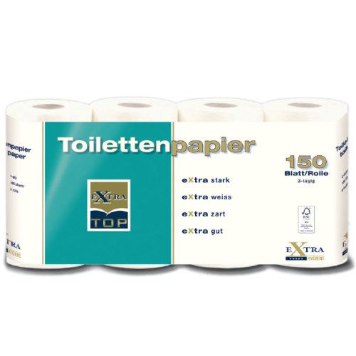 Toilettenpapier türkis start